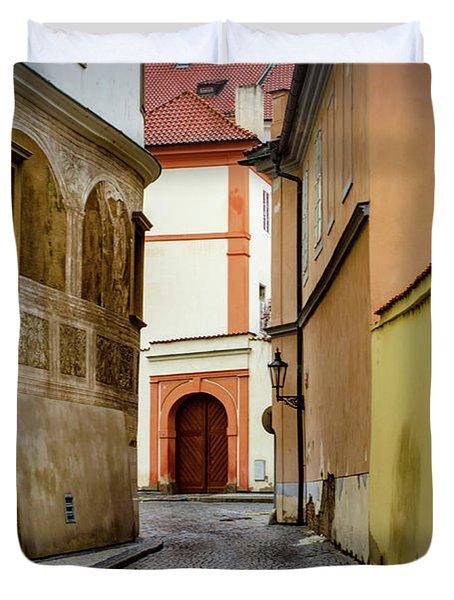 The Colours Of Prague Duvet Cover