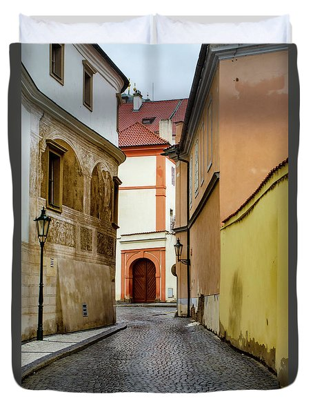 The Colours Of Prague Duvet Cover