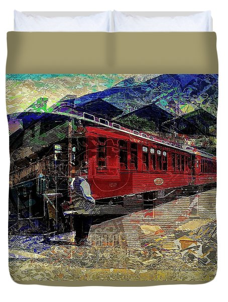 The Conductor Duvet Cover