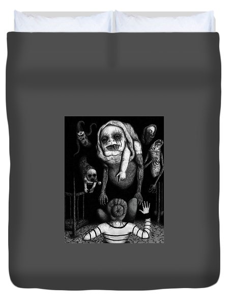 The Corrupted - Artwork Duvet Cover