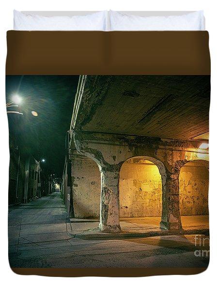 The Dark Corner Duvet Cover