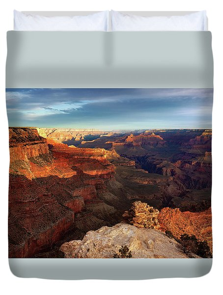 The Dawn Of A New Day Duvet Cover