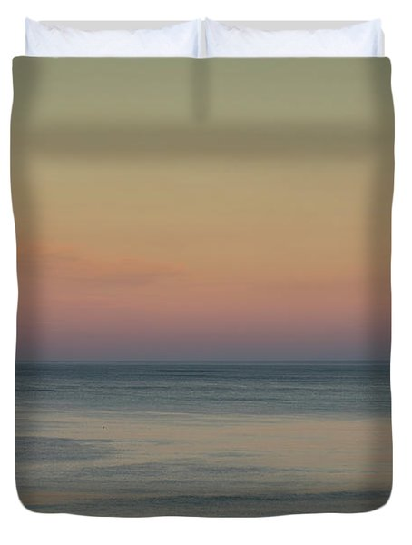 The Day Begins Duvet Cover