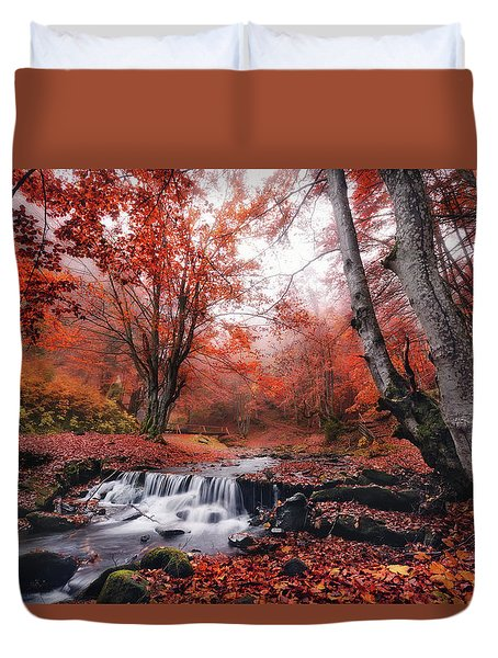 The Delights Of Late Autumn Duvet Cover