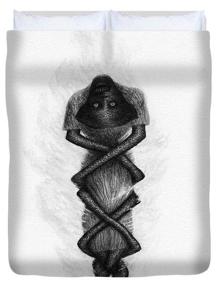 The Deranged Nurse - Artwork  Duvet Cover