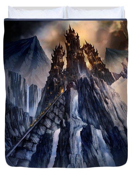 The Dragon Gate Duvet Cover