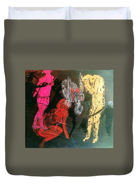 The Fates Are Emerging Duvet Cover