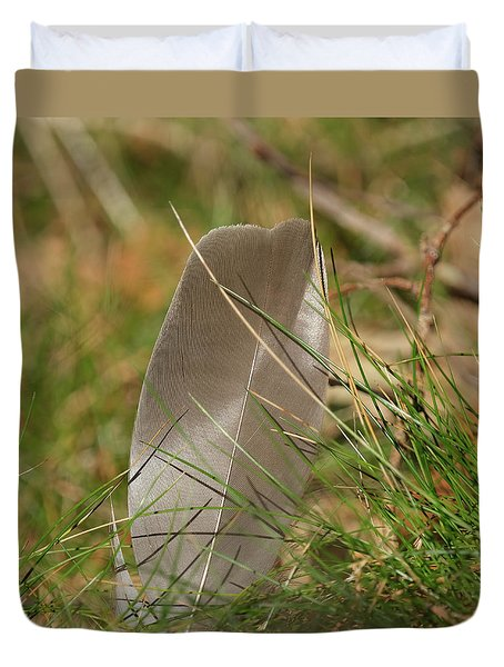 The Feather Duvet Cover