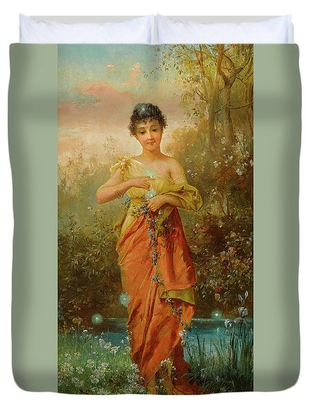 The Fireflies Duvet Cover