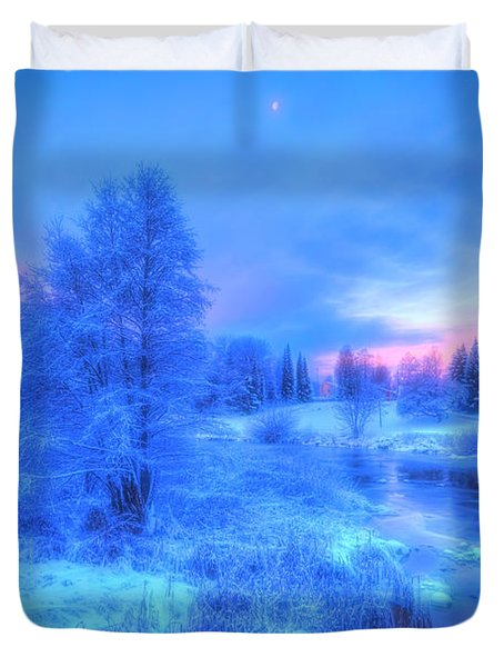 The First Snow 2 Duvet Cover