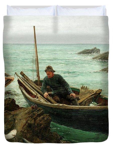 The Fisherman's Sweetheart Duvet Cover