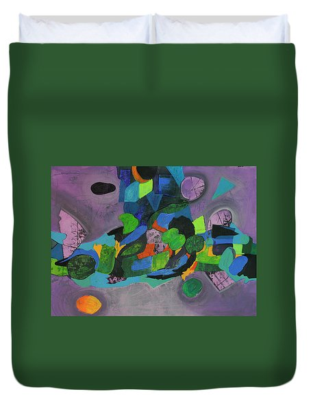 The Force Of Nature Duvet Cover