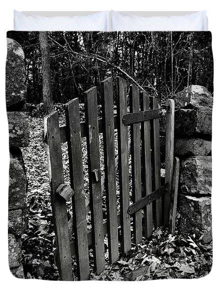The Garden Entrance Duvet Cover