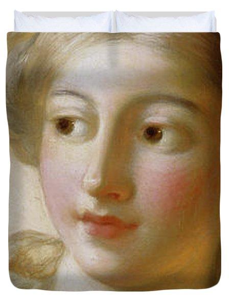 The Goddess Minerva, Circa 1772 Duvet Cover