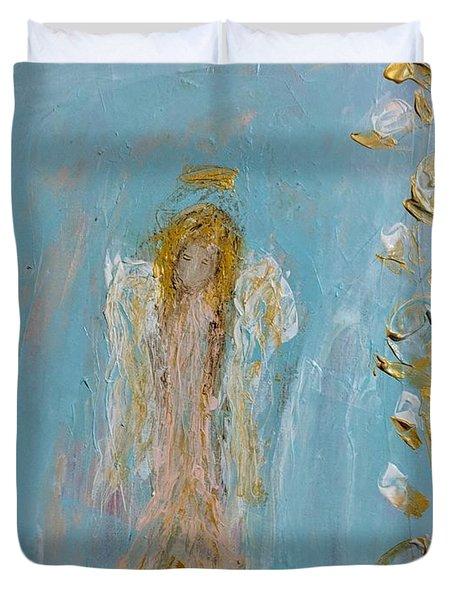 The Golden Child Angel Duvet Cover