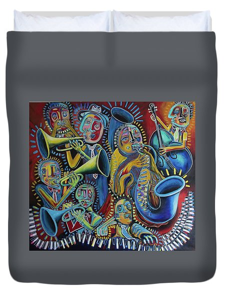 The Groove Duvet Cover