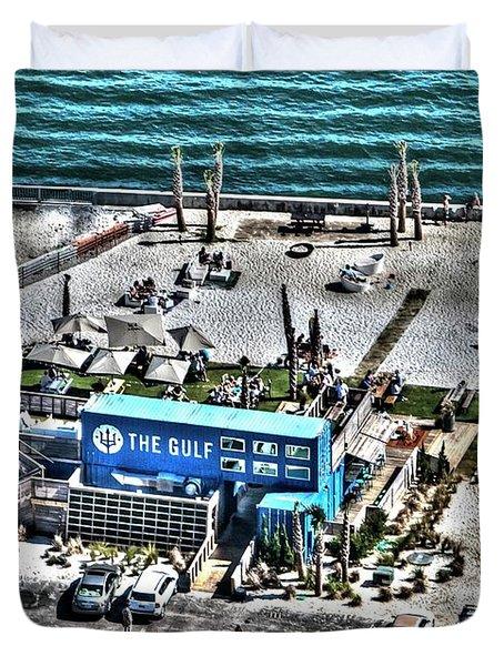 The Gulf Duvet Cover