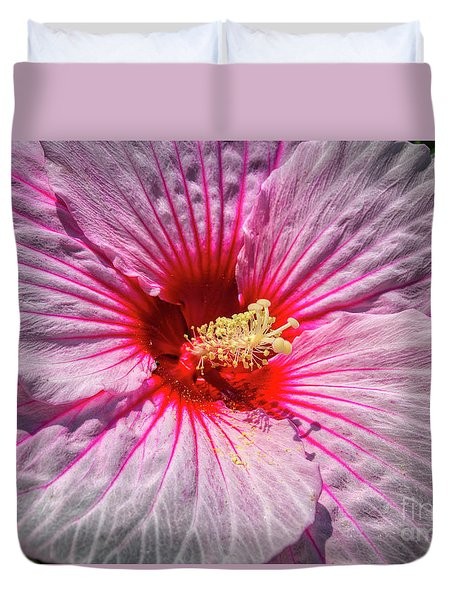 The Hibiscus Flower Duvet Cover