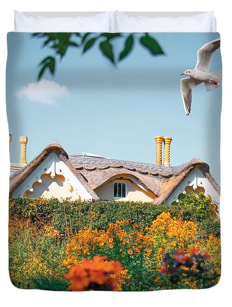 The Hobbit House Duvet Cover
