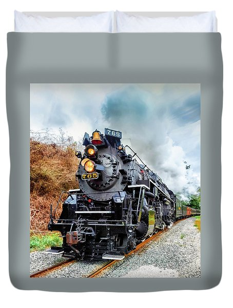 The Iron Horse  Duvet Cover