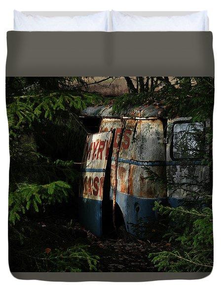 The Junk Yard Duvet Cover