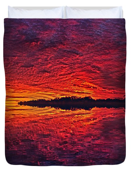 Duvet Cover featuring the photograph The Last Chapter by Phil Koch