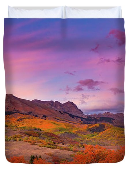 The Last Light Of September Duvet Cover