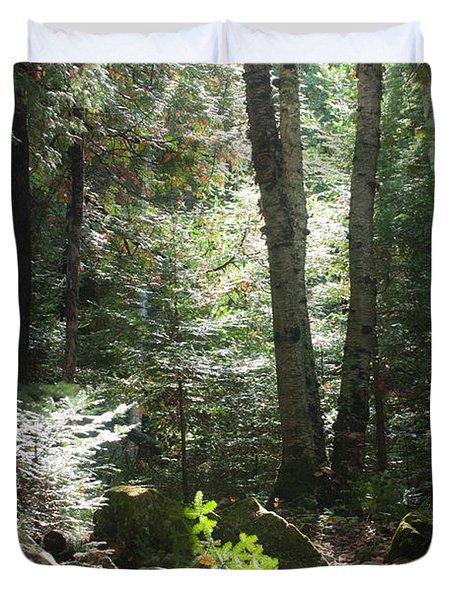 The Living Forest Duvet Cover