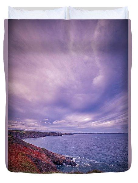 The Lizard Point Duvet Cover