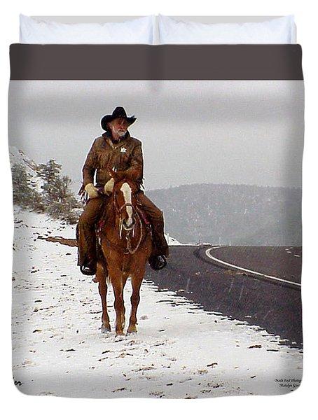 The Lone Ranger Duvet Cover