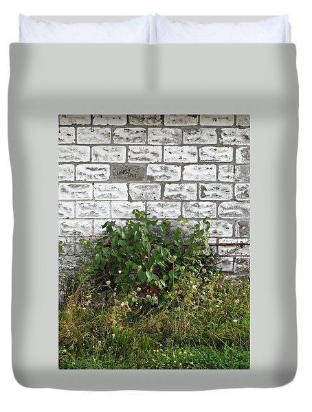 The Lonely Spot Duvet Cover