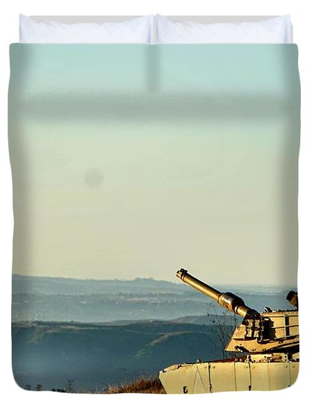 The Long Road Home Duvet Cover