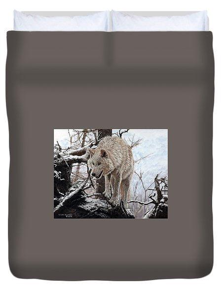 The Lookout Duvet Cover