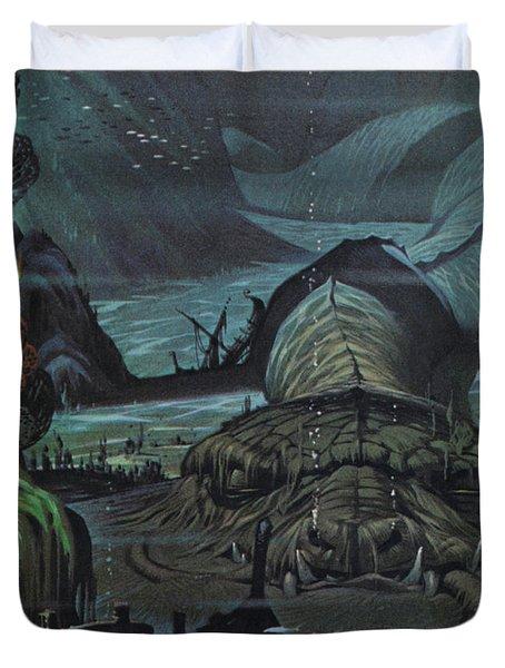 The Midgard Serpent  Duvet Cover
