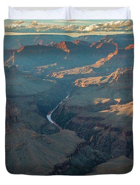 The Mighty Colorado  Duvet Cover