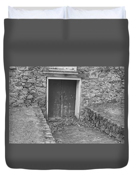 The Mill Door - Waterloo Village Duvet Cover