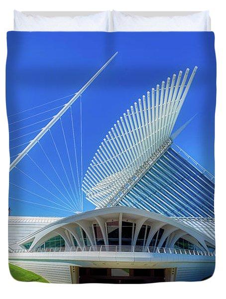 The Milwaukee Art Museum's Quadracci Pavilion Duvet Cover