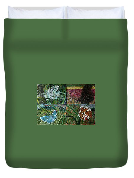 The Missing Piece Duvet Cover