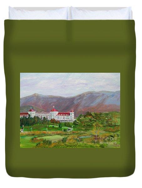 The Mount Washington Hotel Duvet Cover
