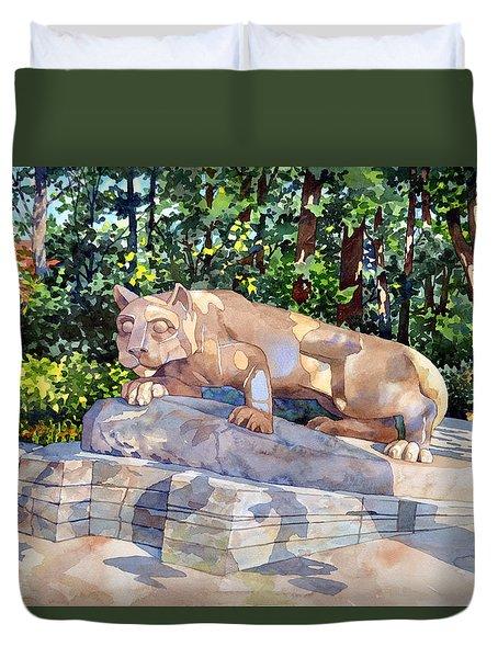 The Nittany Lion Duvet Cover