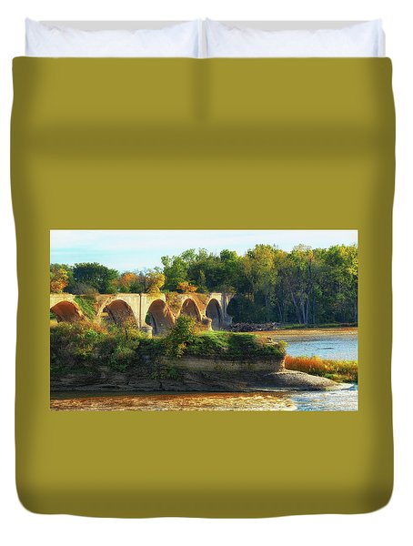 The Old Bridge  Duvet Cover