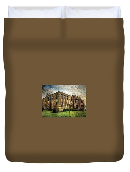 The Old County Courthouse Duvet Cover