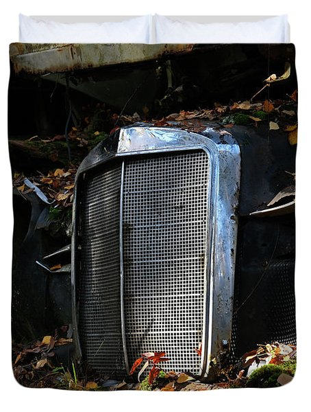 The Old Mercedes Duvet Cover