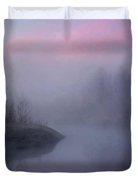 The Old River Duvet Cover