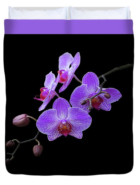The Orchids Duvet Cover