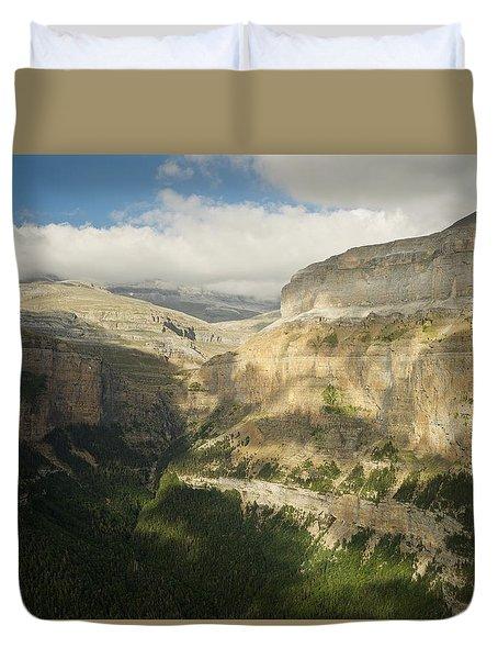 The Ordesa Valley Duvet Cover