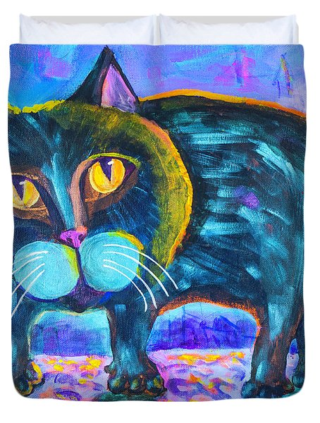 The Owner Of The Night 11x14 Duvet Cover