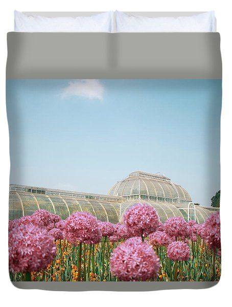 The Palm House Duvet Cover