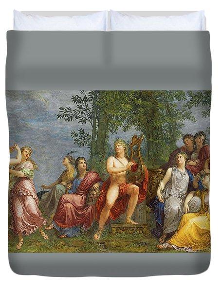 The Parnassus Duvet Cover