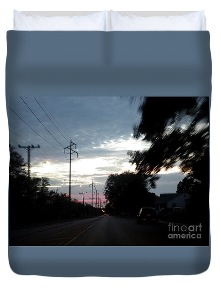 The Passenger 02 Duvet Cover